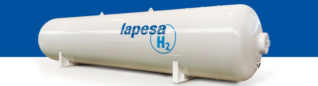 Lapesa tanks for H2