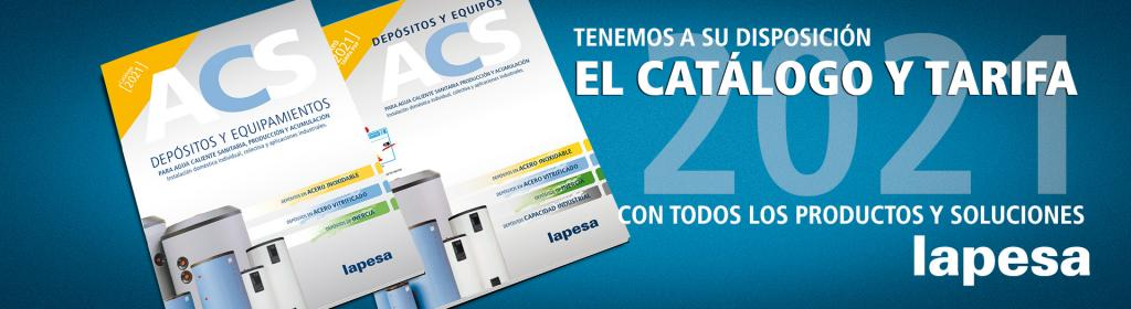 Lapesa: Nuevo Catálogo y Tarifa ACS