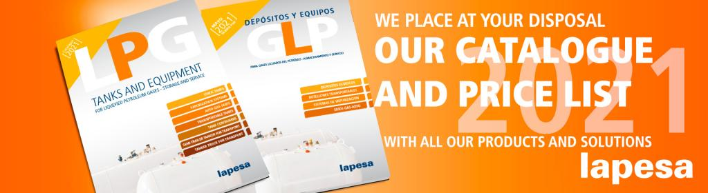 Lapesa: New Catalogues and LPG Price List