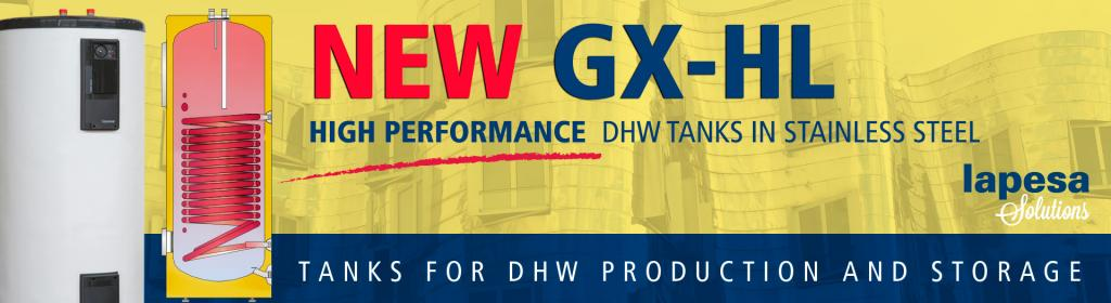 HIGH PERFORMANCE DHW stainless steel tanks